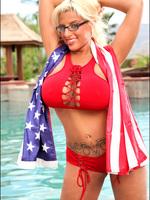 Taylor Stevens - Vol. 5 - Set 1 - Patriotic Big Boobs!