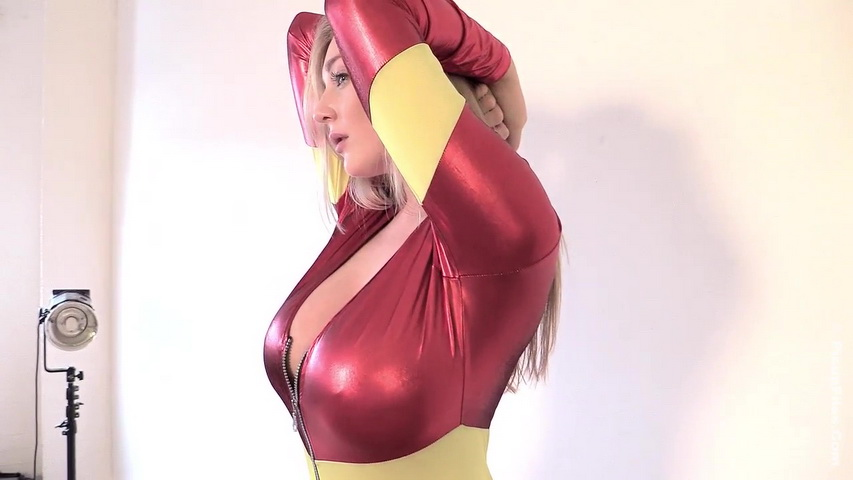 """Beth lily - firewoman halloween 1 - 3 minutes. Beth Lily. The lascivious body, sophisticated face and awesome all-natural big natural tits of one 32GG Beth Lily is here again this week, to carry us on during our official """"Beth Lily Week"""" this Halloween season in her saucy """"Firewoman"""" costume."""