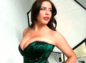 Delicious Busty Desiree posing