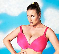 Stunning Vassanta display her natural huge titties
