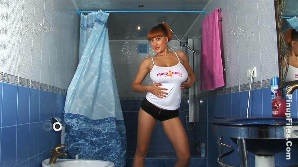 Valory fleur blue shower01 trailer  valory fleur gets soapy in